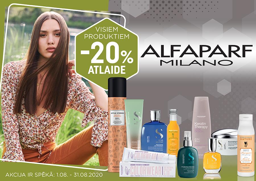 Akcija uz ALFAPARF produkciju