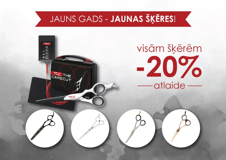 Special prices for SCISSORS!